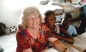 A school in Zimbabwe